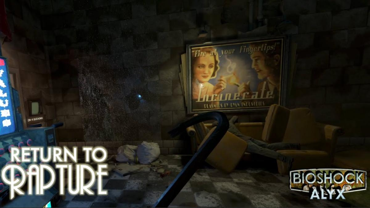 This is the incredible BioShock mod from Half-Life: Alyx, which already offers a full campaign