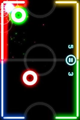 لعبة Glow Hockey 2