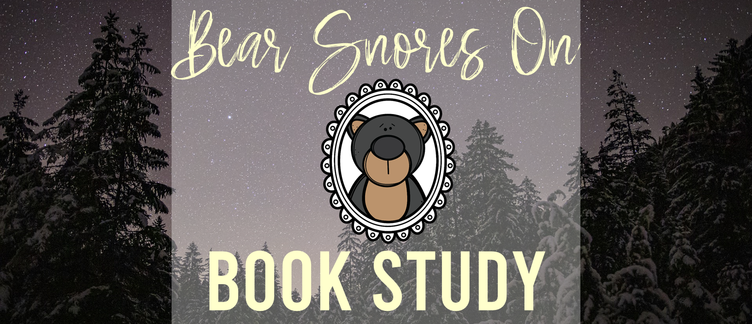 Bear Snores On book study winter companion activities K-1