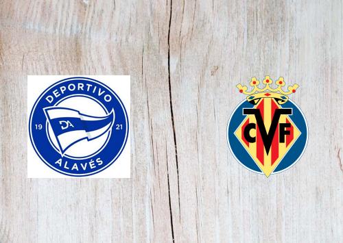 Deportivo Alavés vs Villarreal -Highlights 21 April 2021