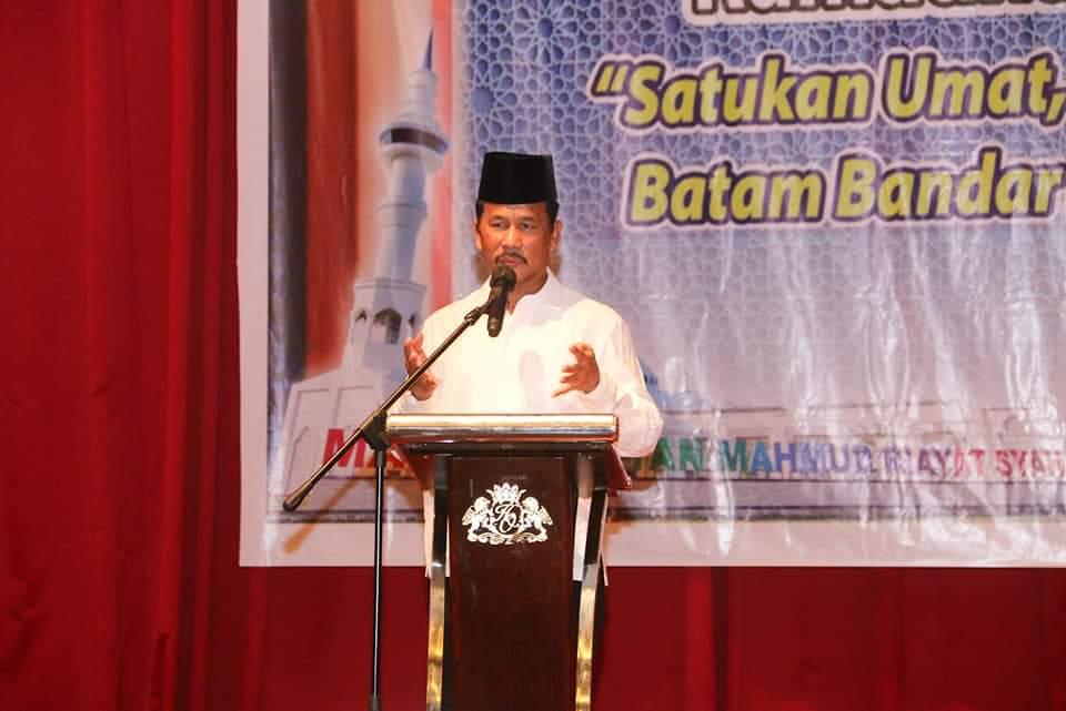 Pemko Batam Izinkan Pelaksanaan Salat Tarawih Berjamaah dan Idul Fitri di Masjid.
