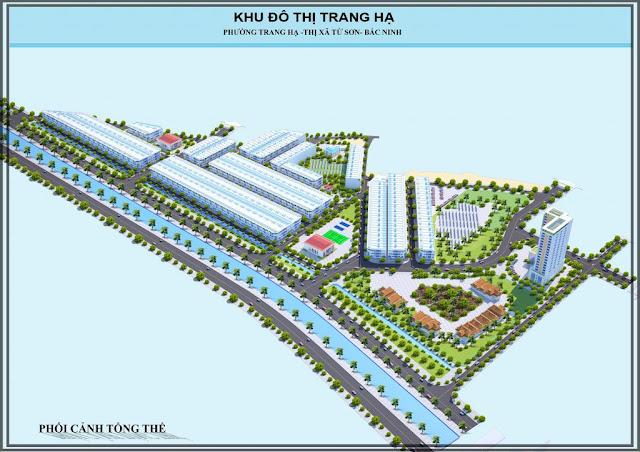 Khu đô thị Trang Hạ Từ Sơn Bắc Ninh dự án đất nền liền kề biệt thự shophouse thương mại dịch vụ nhà ở
