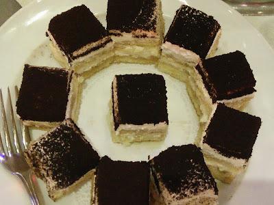 Majlis Makan Malam Mandailing, Majlis Sambutan Hari Raya Kolej Komuniti, Kek Cappucino