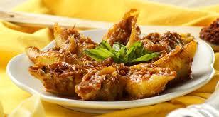 مقرونة ببوش محشية في الفرن - أكلة تونسية