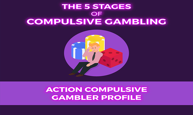 The 5 Stages of Compulsive Gambling