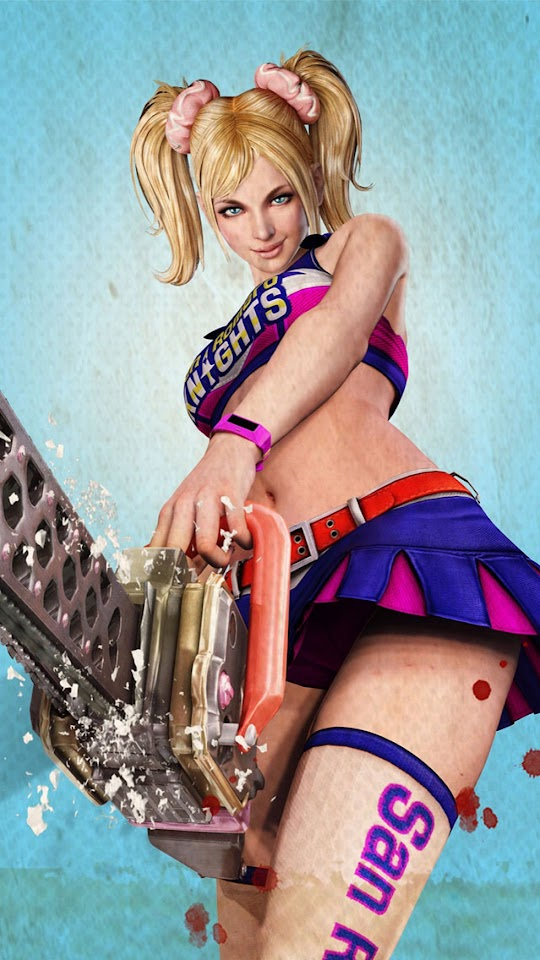 Lollipop Chainsaw Juliet Cheerleader   Galaxy Note HD Wallpaper