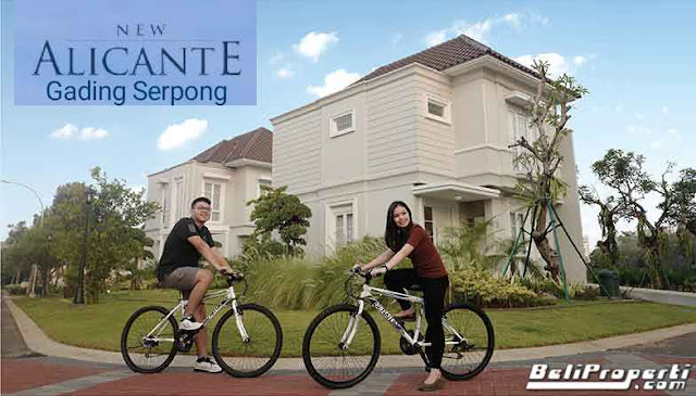 cluster new alicante serpong