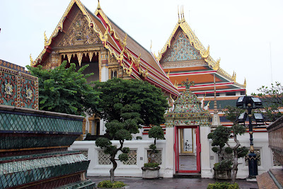 Foreign lying Buddha Temple in Bangkok