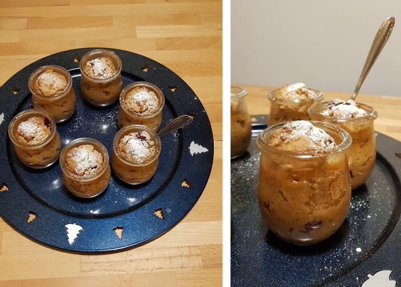 Beerige Gewürzküchlein für den Adventskaffee aus dem Glas