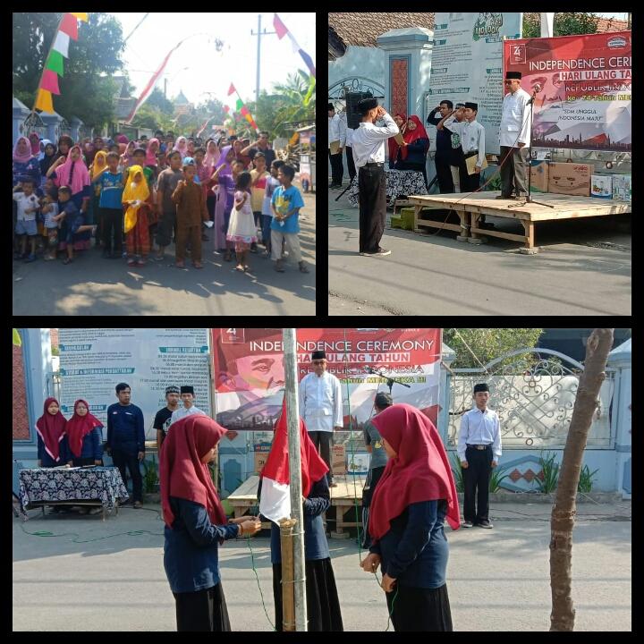 Peringatan Hari Kemerdekaan RI ke-74 di Karangasem Tambakberas Jombang