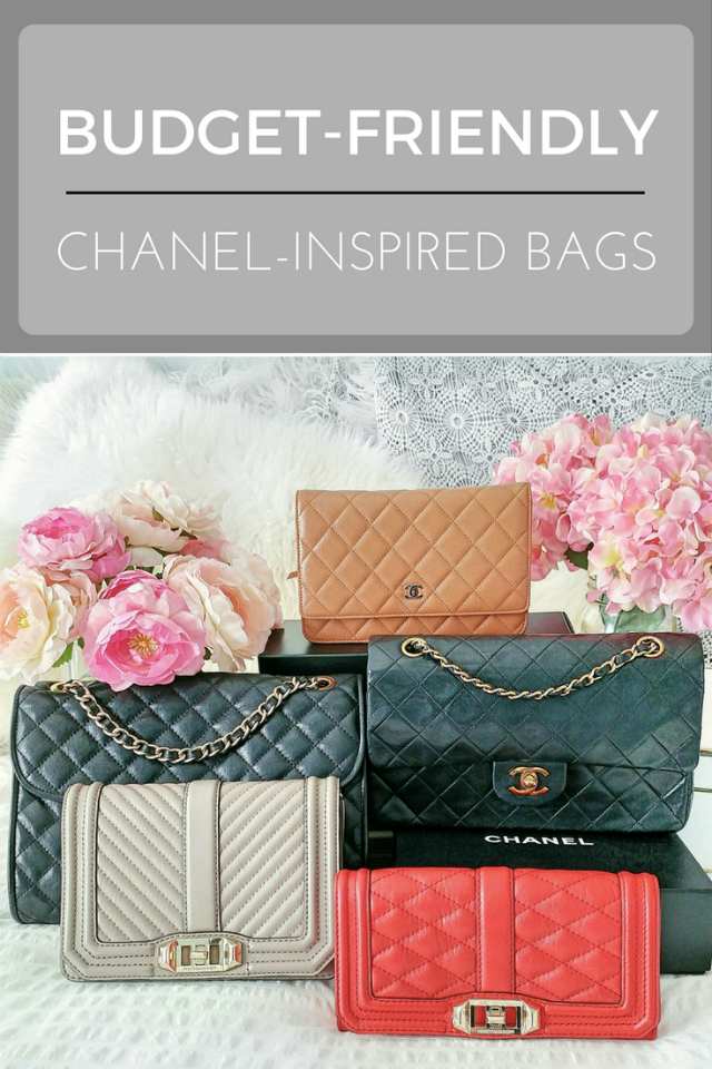 How to get the look of a Chanel bag for less - my favourite budget-friendly Chanel-inspired lookalike bags