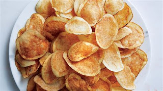 can you make potato chips at home, easy potato chip recipe, How to make homemade potato chips