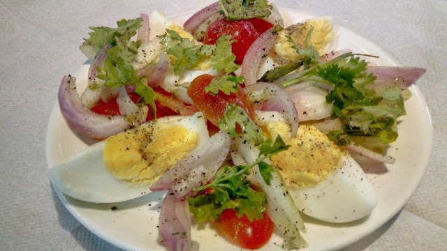 Healthy Salad Recipe Egg Salad in 10 minutes