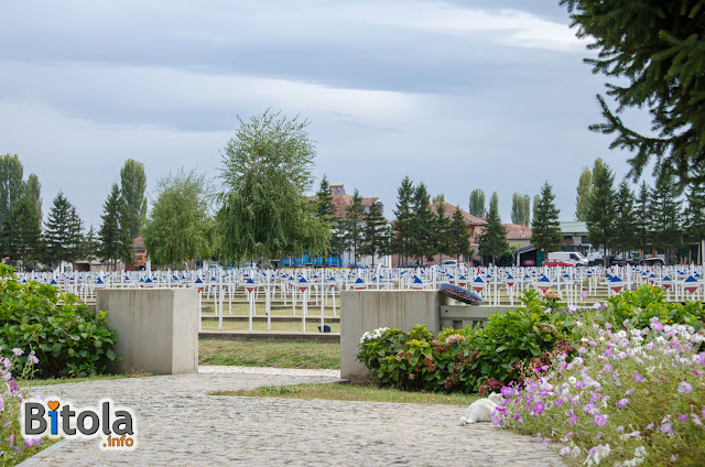 French military cemetery in Bitola