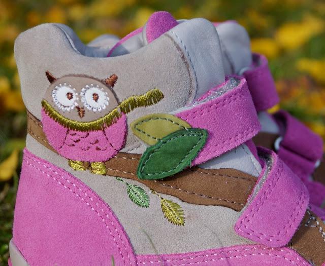 Eule Eulenmotiv Schuhe Mädchen