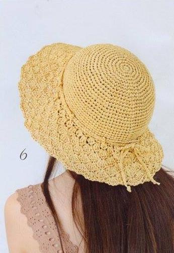 Patrón #1151: Sombrero a Ganchillo