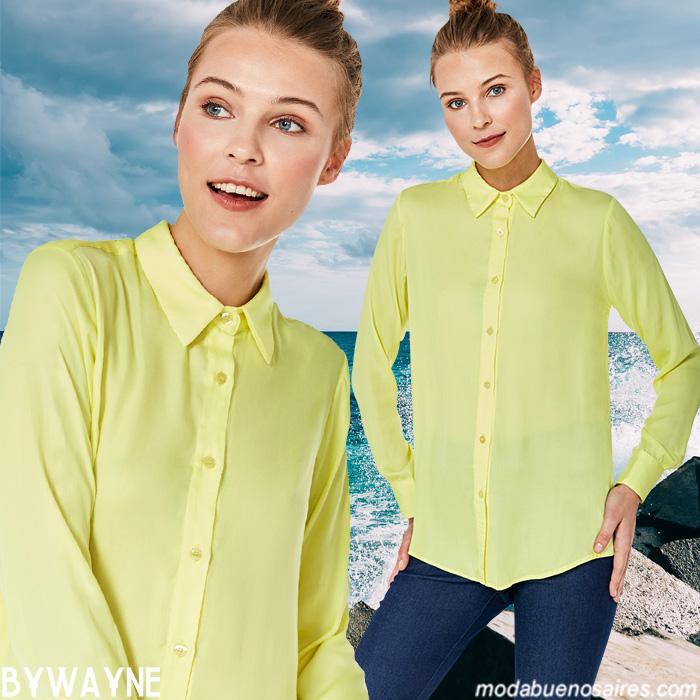 Camisas de mujer primavera verano dos mil veinte.