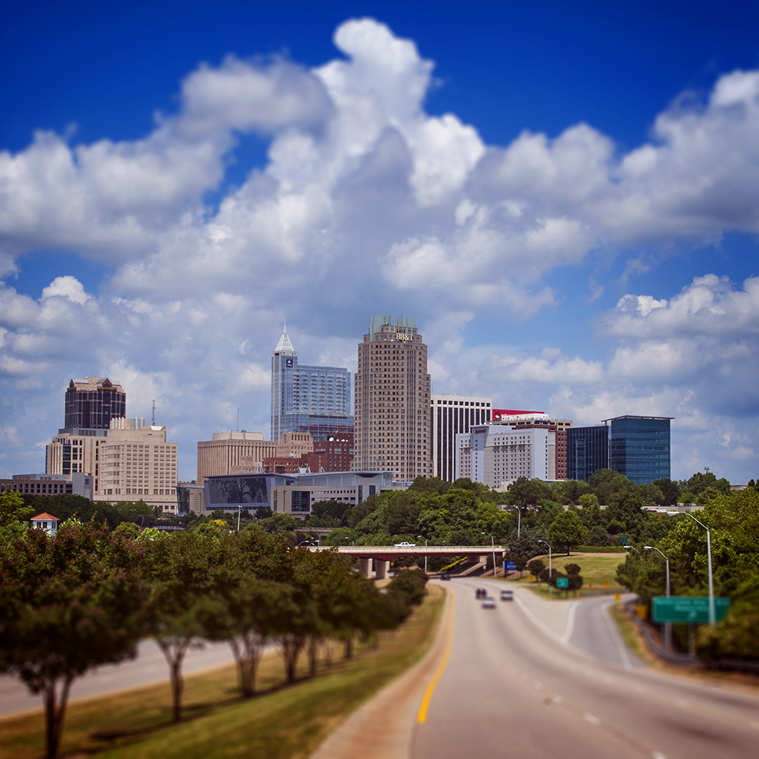 Bryan Regan Photography: Raleigh NC skyline