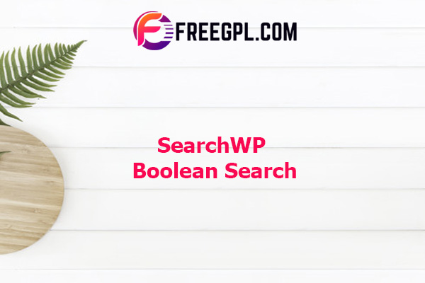 SearchWP Boolean Search Nulled Download Free