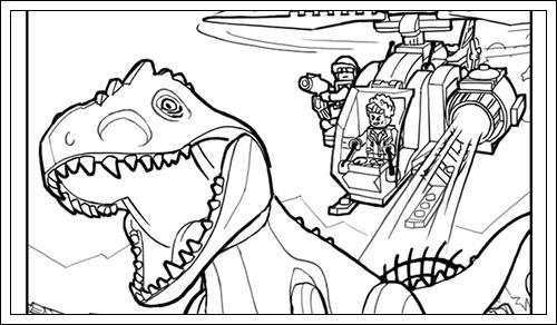 Ausmalbilder Zum Ausdrucken Jurassic World 90 Neu Lego