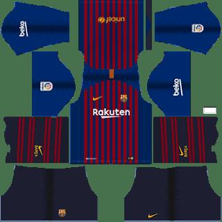 Kit DLS FC Barcelona  2018/2019