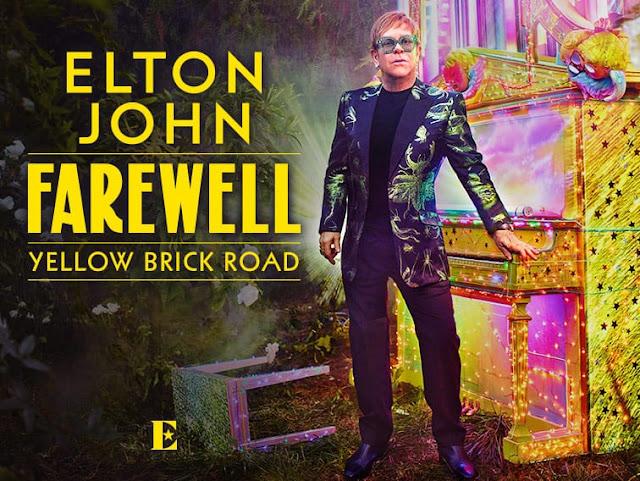 EVENT: Elton John's Farewell Yellow Brick Road Tour | February 1-2, 2019 | Inglewood, CA.