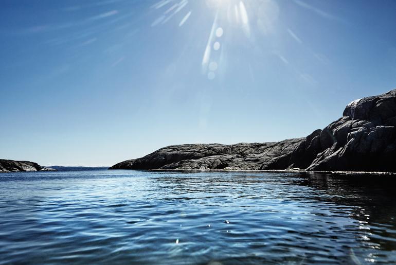 luz y naturaleza en suecia