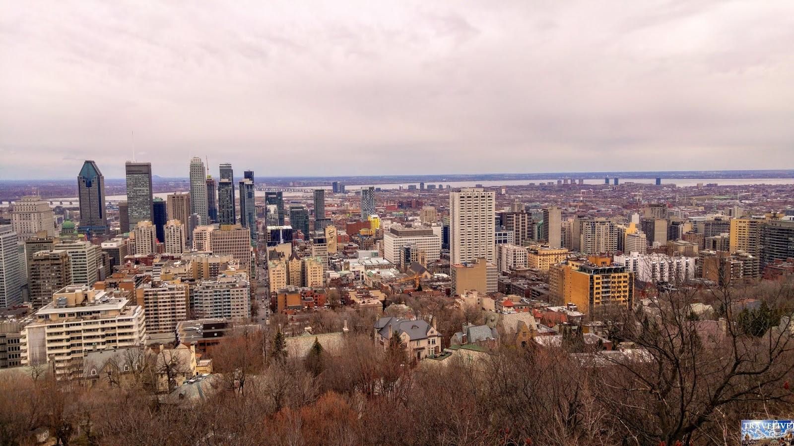 Canada Montréal Mont royal