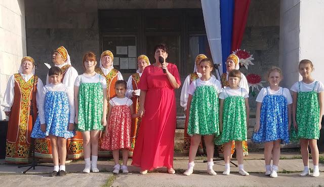 мои 92 дня лета, день России, сельский клуб, артисты