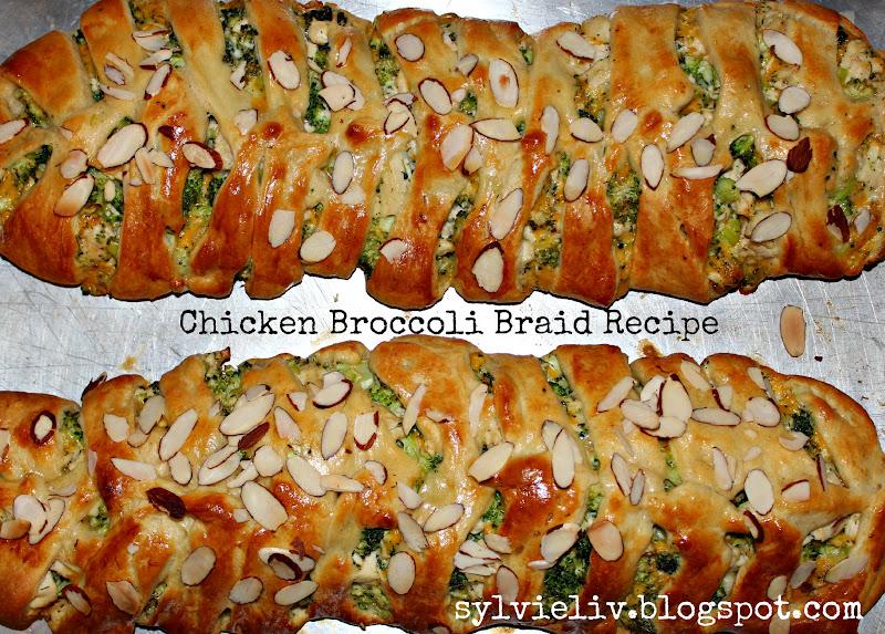 Sylvie Liv Chicken Broccoli Braid Recipe