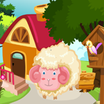 G4K Cute Sheep Rescue Wal…