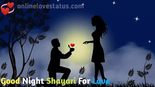 Good Night Shayari For Love