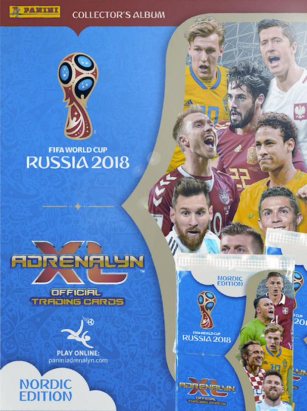 Panini - Adrenalyn XL FIFA World Cup 2018 Russia (12) - Nordic Edition -  Checklist 953ee3bc4