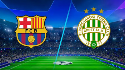 مشاهدة مباراة برشلونة و فرينكفاروزي 20-10-2020 بث مباشر في دوري ابطال اوروبا