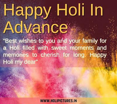 happy Holi 2022 advance images