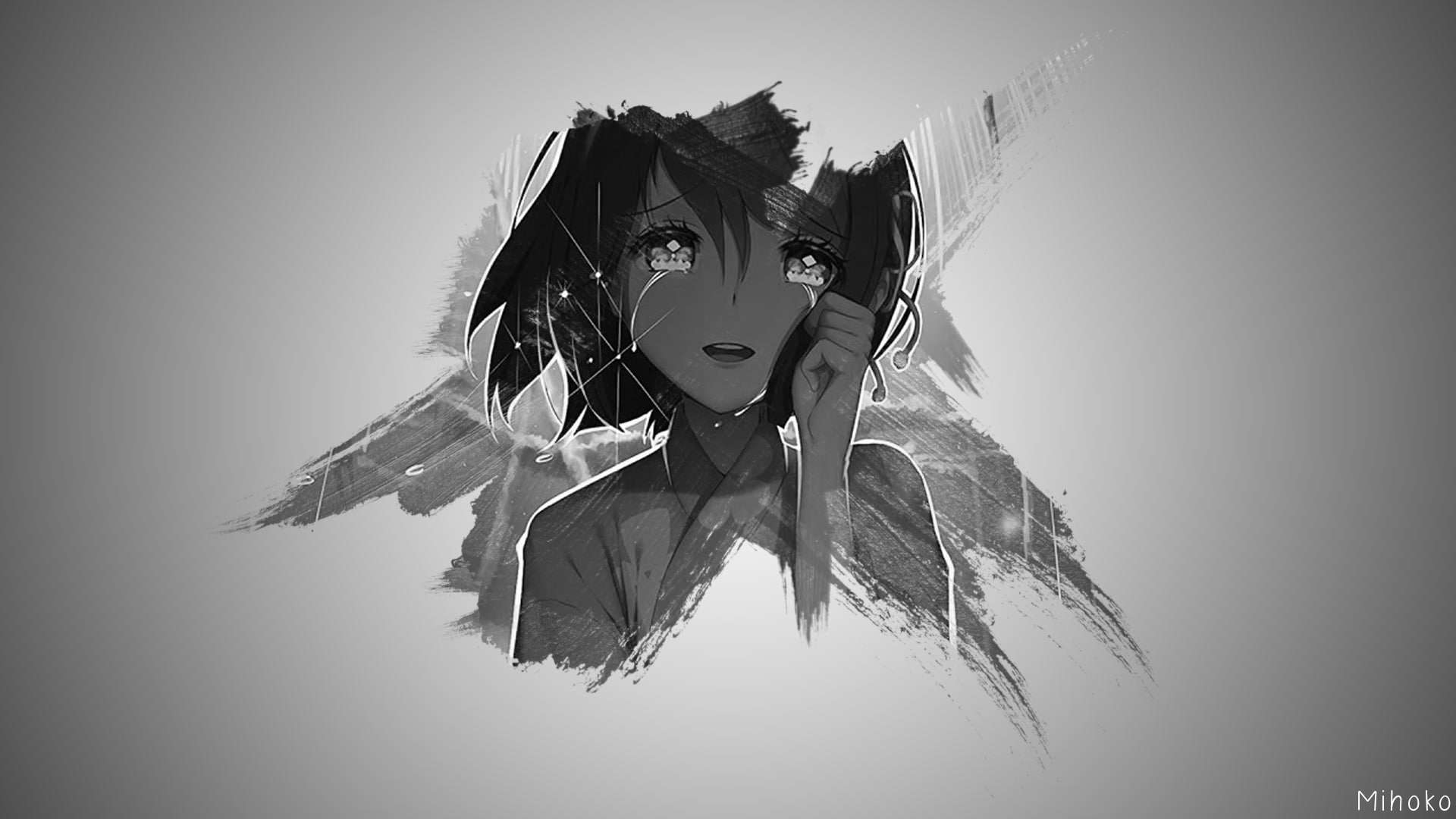 Gambar anime keren desktop