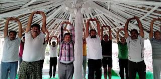 पतंजलि योग समिति के सदस्यों के लिये कार्यशाला आयोजित  | #NayaSaberaNetwork