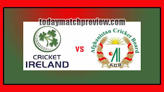 2nd T20 AFG vs IRE Today Match Prediction Dream11 Squad