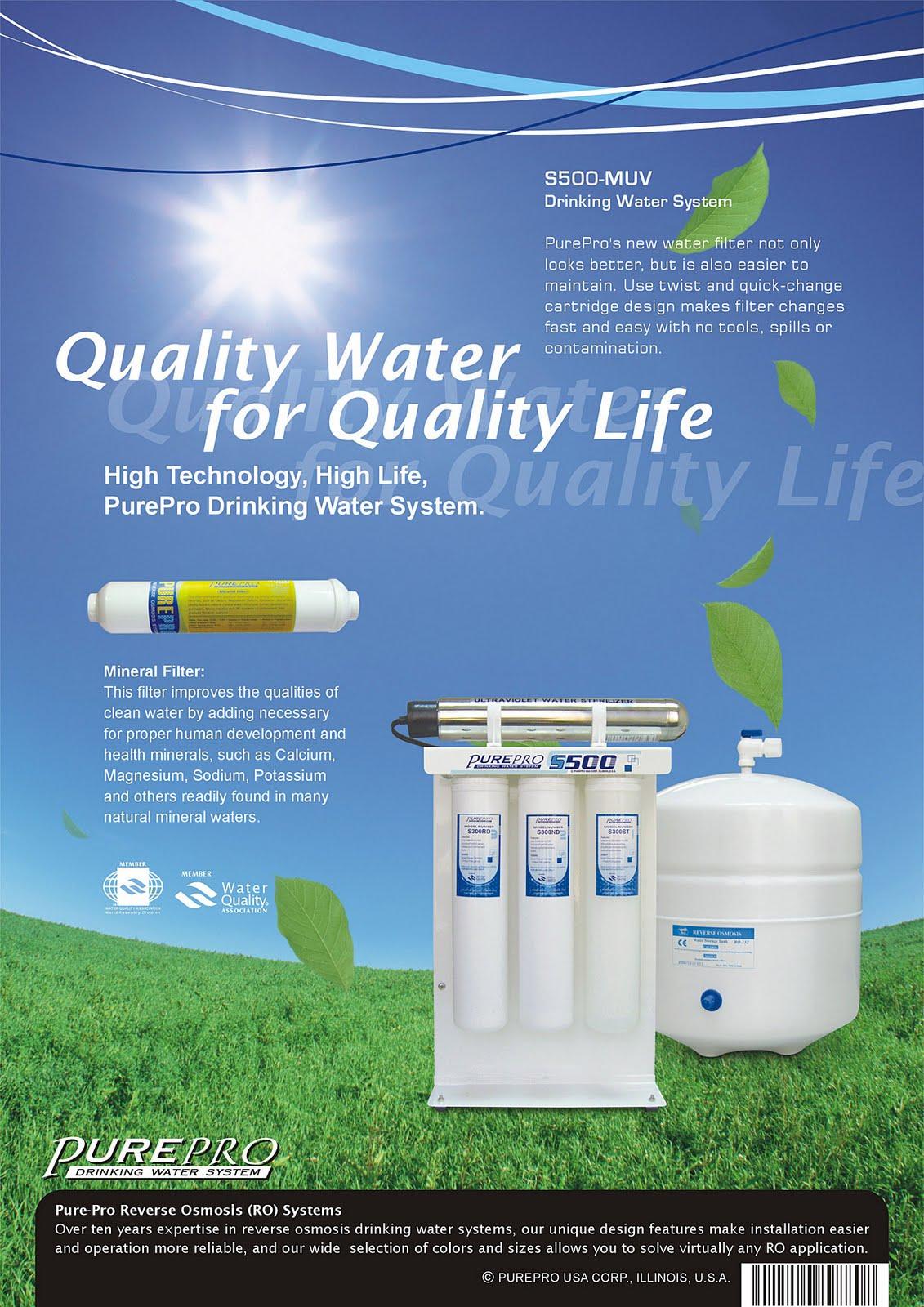 PurePro® USA RO Systems S500-MUV