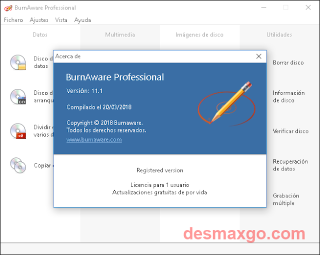 Descargar BurnAware Professional 2018 Full