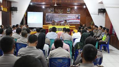 Polres Payakumbuh Lakukan Studi Tiru Pembagunan Zona Integritas (ZI) di Polres Solok Kota