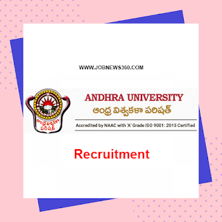Andhra University Recruitment 2019 for Research Officer, Computer Operator, Peon