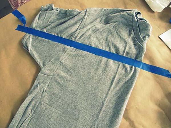 tişörtten straplez abiye yapımı