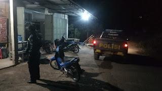Patroli Malam Personil Polsek Curio Tingkatkan Kamtibmas Di Wilayah Hukumnya