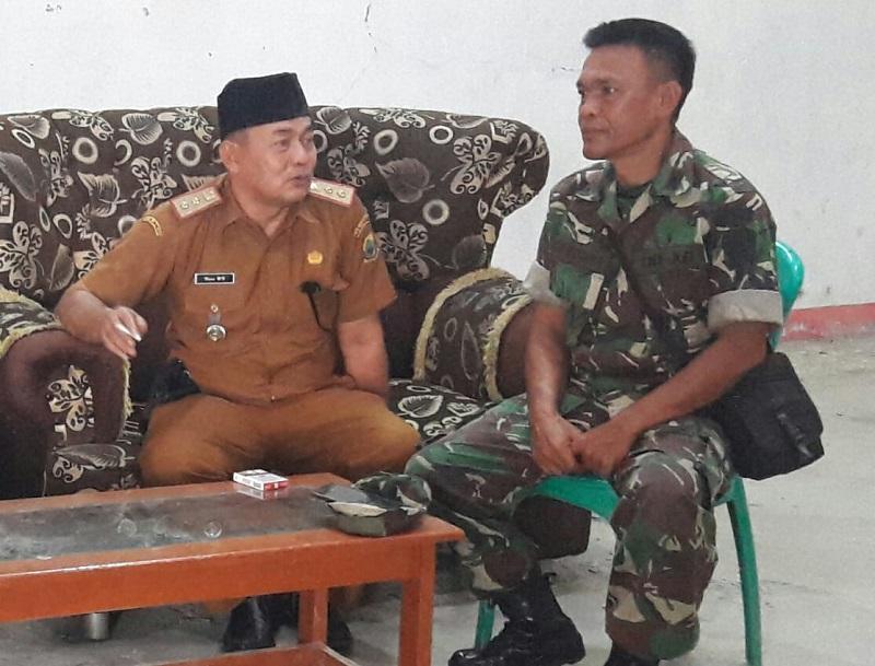 Camat Cikalong Kulon Apresiasi Kodim 0608/Cianjur Dengan TMMD Ke-107 Telah Banyak Membantu Masyarakat