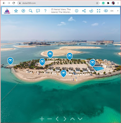 Dubai 360 website Screenshot