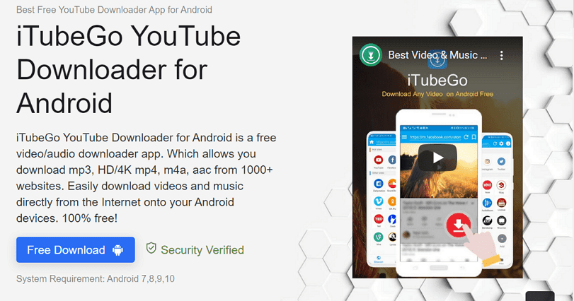 iTuneGo 社群和影音平台下載 App,支援 YouTube 播放清單儲存 HD/4K 高畫質影片(Android) - 逍遙の窩
