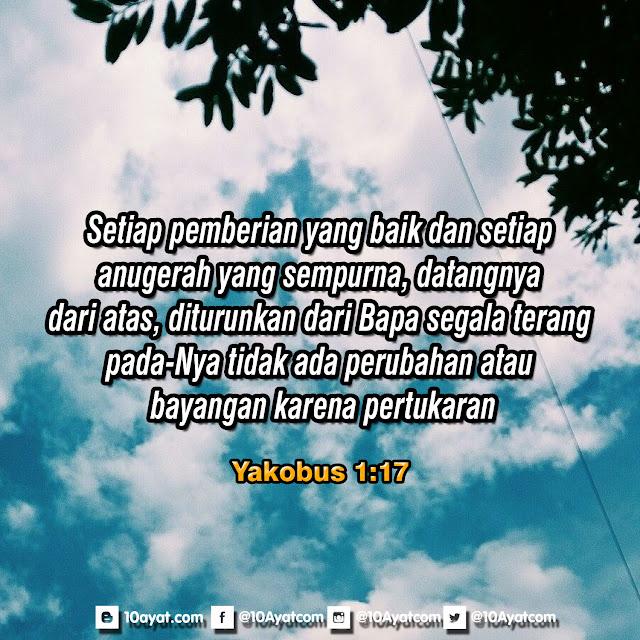 Yakobus 1:17