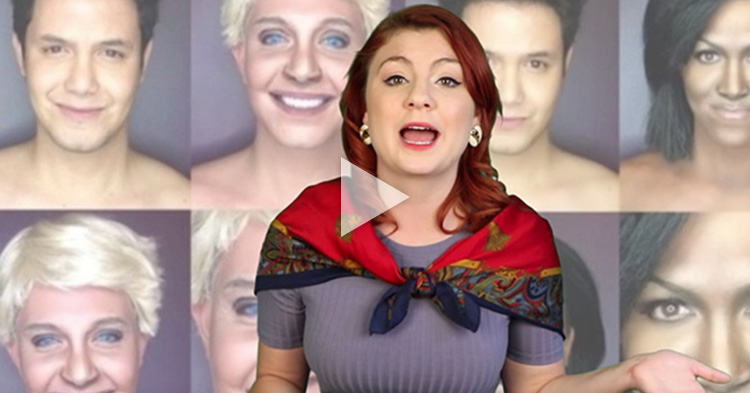 """Paolo Ballesteros, one of the """"10 Most Shocking MakeUp Transformations"""""""