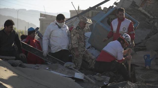 ONU y papa Francisco expresan pesar por terremoto en Irán e Irak